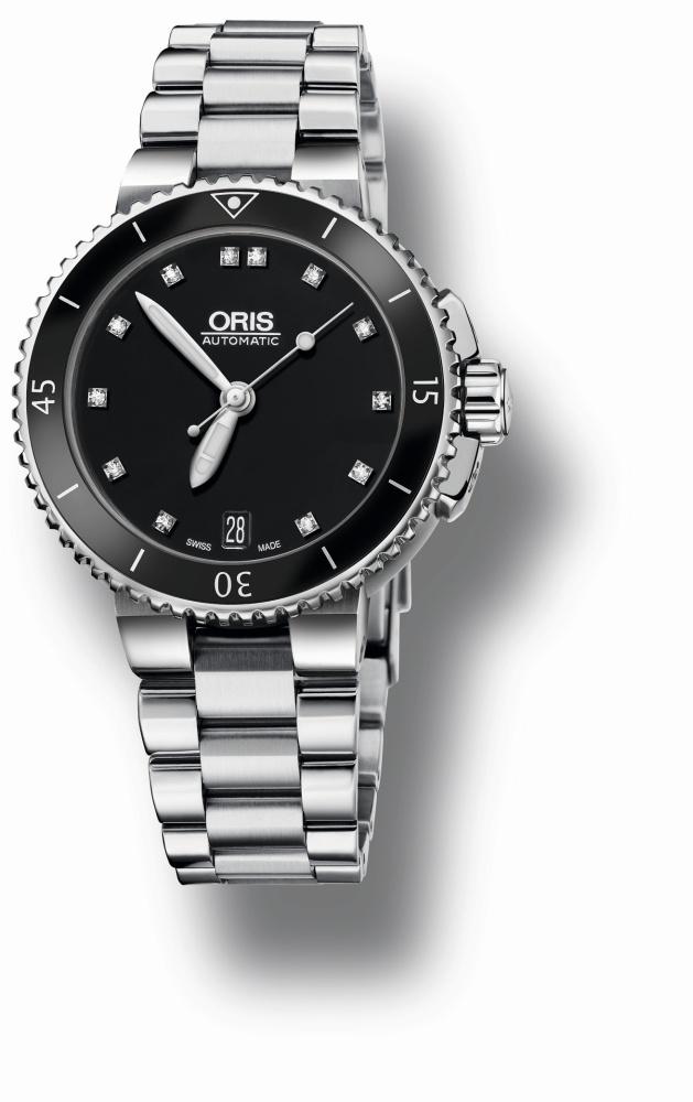 Oris Aquis Date Diamonds 01 733 7652 4194-07 8 18 01P