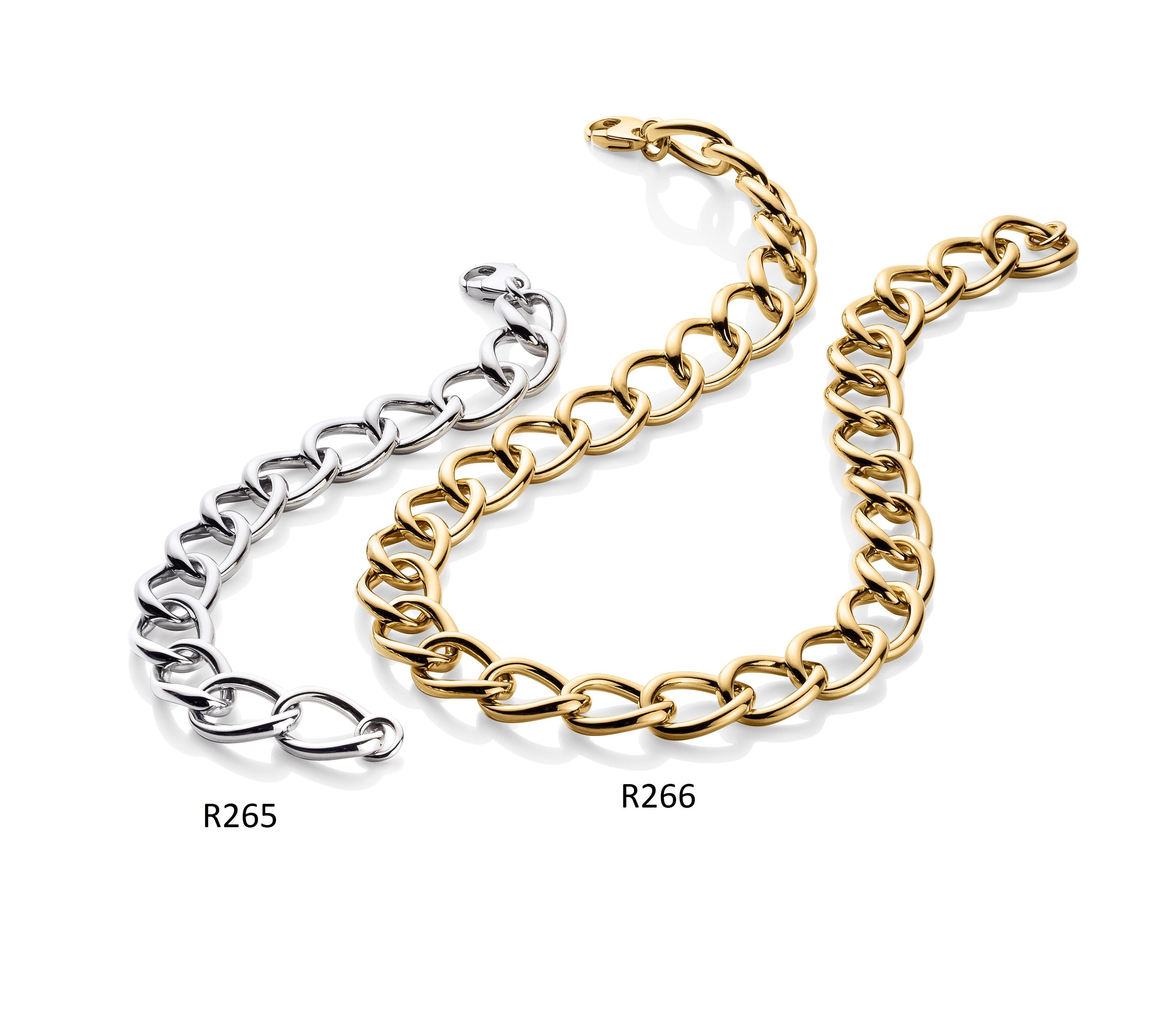 Ratius Armband + Kette verschiedene Plattierungen R265,R266