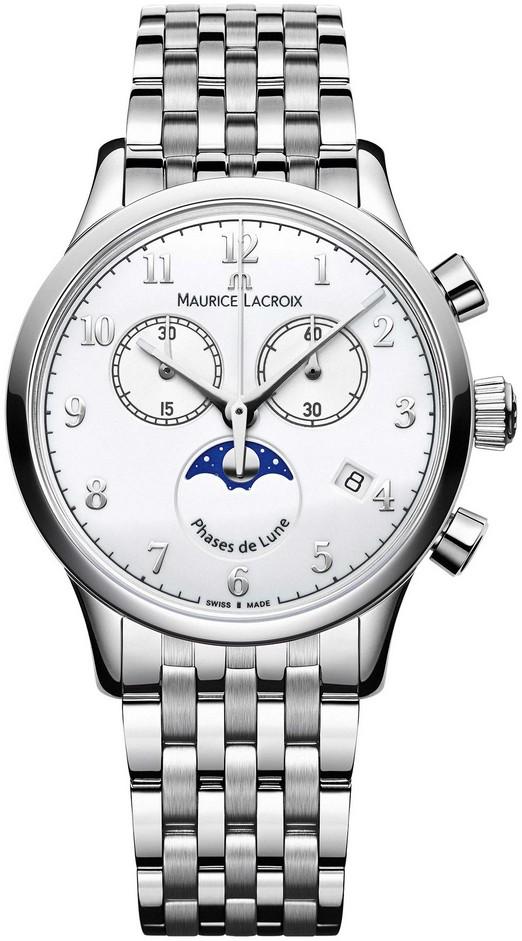 Maurice Lacroix Les Classiques Mondphase inkl.Lederband NEU