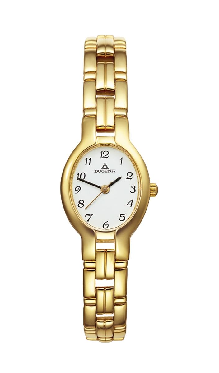 Dugena Basic Damenuhr vergoldet Mod: 1936214