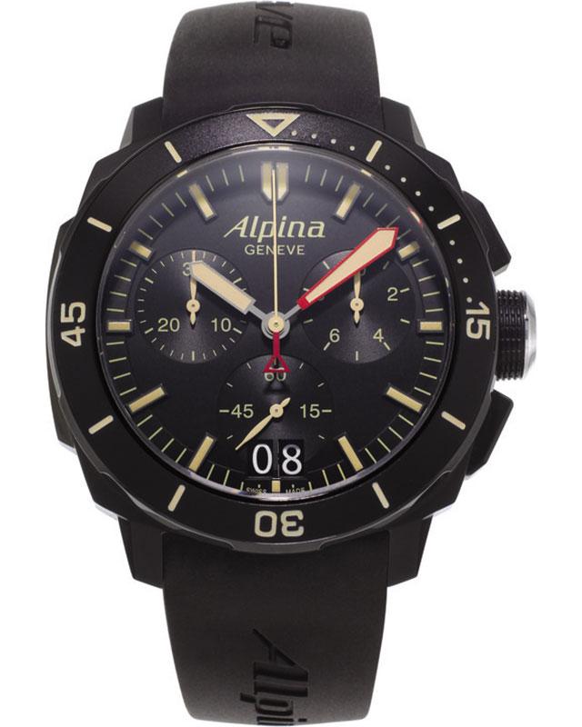 Alpina Modell:Seastrong Diver 300 Big Date Chrono inkl.Ersatzband NEU