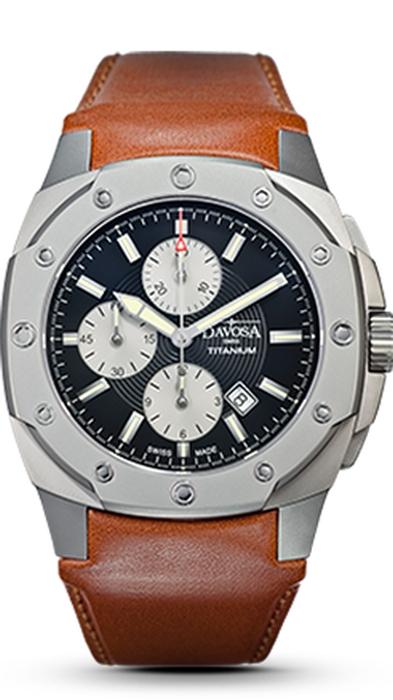 Davosa Titanium Chronograph 161.503.55 NEU