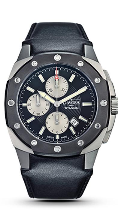Davosa Titanium Chronograph 161.505.55 NEU