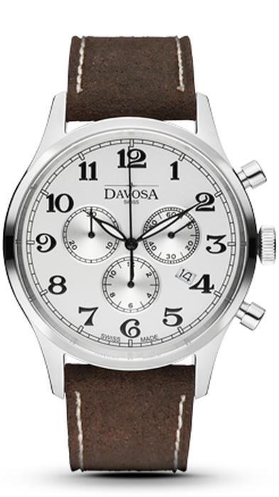 Davosa Heritage Chronograph Quartz 162.479.16 NEU