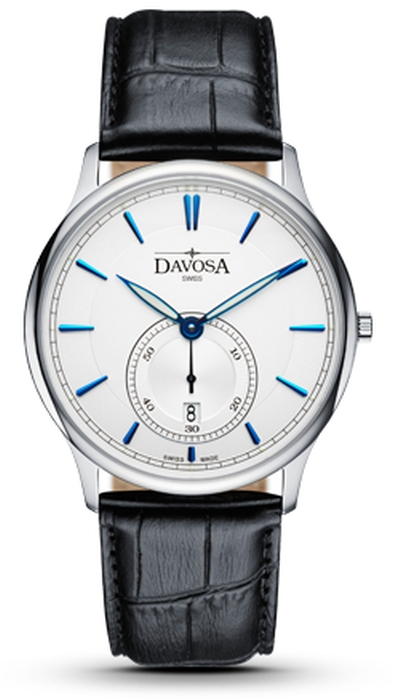 Davosa Flatline Herrenuhr Quartz 162.483.15 NEU