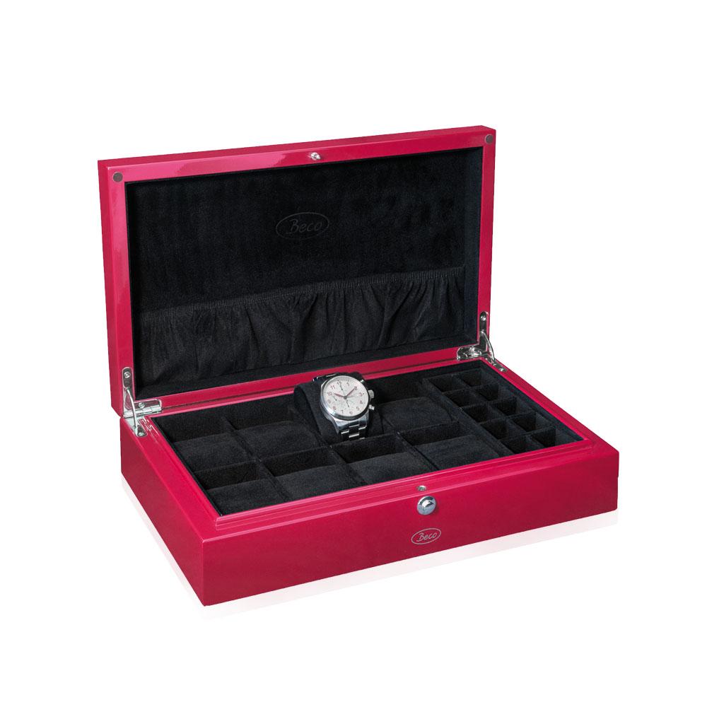Beco Uhrenbox rot NEU