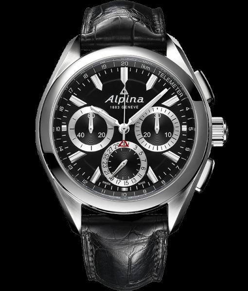 Alpina Modell: Manufacture Flyback Chrono inkl. Ersatzband NEU