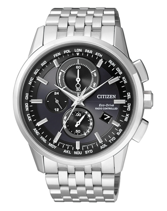 Citizen Eco-Drive Funkuhr Chronograph Mod: AT8110-61E NEU