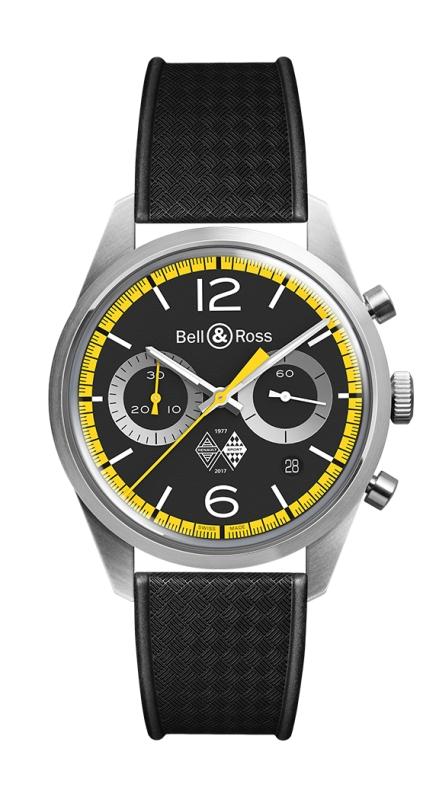 Bell&Ross BR 126 Renault Sport 40th anniversary limitiert NEU