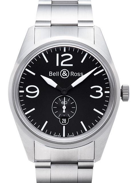 Bell&Ross BR123 Original Black mit Stahlband