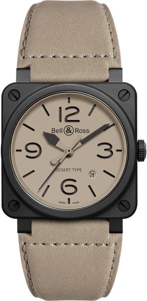 Bell&Ross BR03-92 Desert Type Ceramic NEU