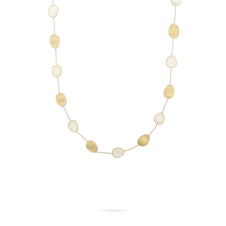 Marco Bicego Collier Lunaria 18ct.Gelbgold/Perlmutt CB2099-MPW