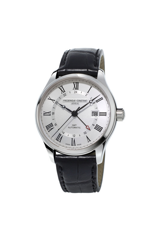 Frederique Constant Herren Index Automatic GMT inkl.Ersatzband NEU