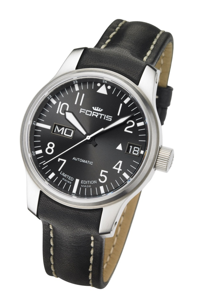 Fortis F-43 Flieger Big Day/Date 700.10.81L
