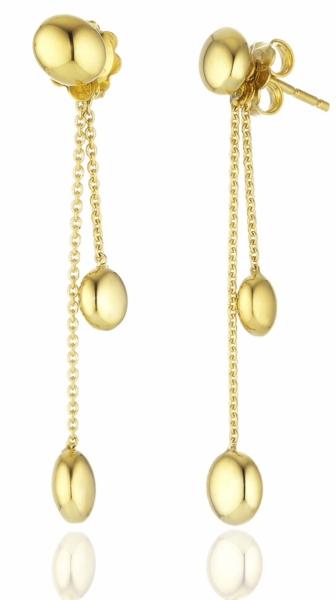 Chimento Ohrringe Armillas in 750/00 Gelbgold NEU