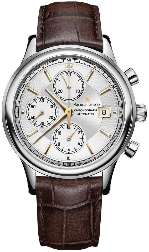 Maurice Lacroix Les Classiques Chronograph inkl.Ersatzband NEU