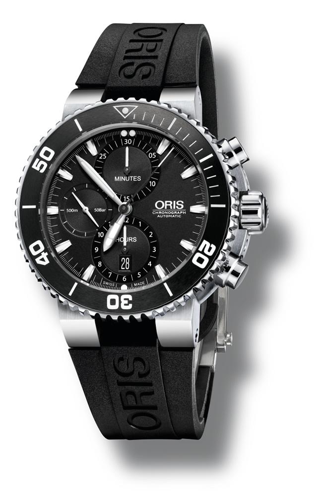 Oris Aquis Chronograph 01 774 7655 4154-07 4 26 34EB