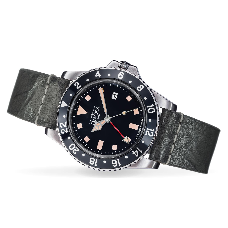 Davosa Vintage Diver Quartz Mod: 162.500.55 NEU
