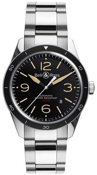 Bell&Ross BR123 Sport Heritage mit Stahlband