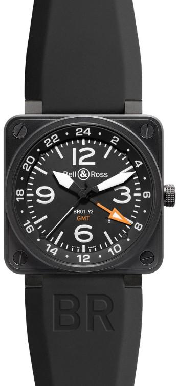 Bell&Ross BR01-93-GMT mit Kautschukband