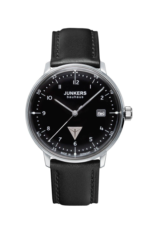 Junkers Bauhaus Modell: 6046-2 Herrenuhr inkl.Ersatzband NEU