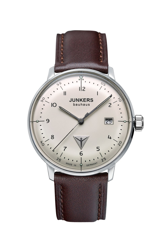 Junkers Bauhaus Modell: 6046-5 Herrenuhr inkl.Ersatzband NEU