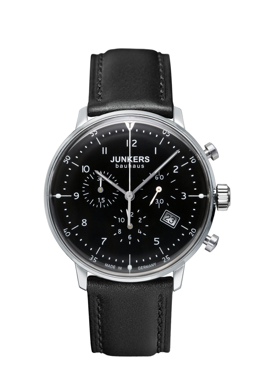 Junkers Bauhaus Chronograph 6086-2 inkl.Ersatzband NEU