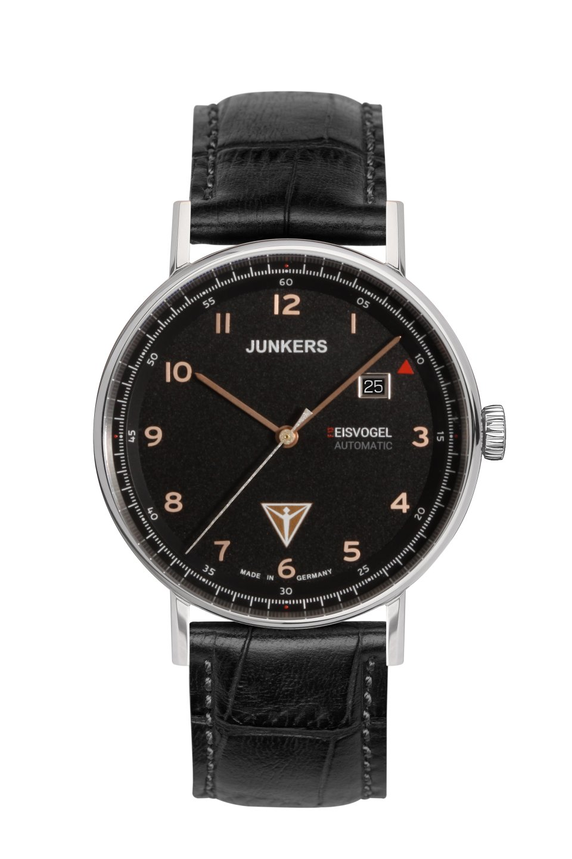 Junkers Eisvogel F13 Mod: 6754-5 Automatik inkl.Ersatzband NEU