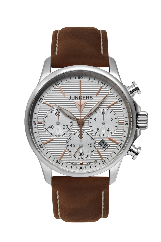 Junkers Tante Ju Chrono Mod: 6878-4 inkl.Ersatzarmband NEU
