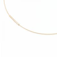 Boccia Titanium Collier goldplattiert Mod: 0802-02 NEU