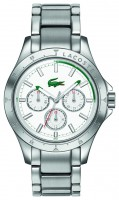 Lacoste Damenuhr Mackay 2000840 Stahl-Stahlband