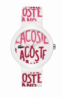 Lacoste Unisex Goa weiss-rot 2020053