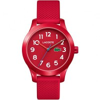 Lacoste Kinderuhr in rot Mod: 2030004 NEU