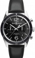 Bell&Ross BR126 Chronograph Sport mit Lederband