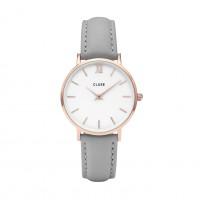 Cluse Minuit Rose White/Grey Mod: CL30002 inkl. Glasperlenarmband NEU