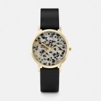 Cluse La Roche Gold Dalmatian/Black Mod: CL40105 inkl. Glasperlenarmband NEU