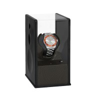 Beco Uhrenbeweger Satin Carbon inkl.Netzteil und Batterien