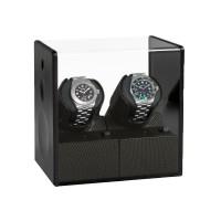 Beco Uhrenbeweger Satin Carbon 2 inkl.Netzteil und Batterien
