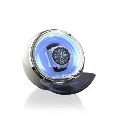 Designhütte Uhrenbeweger Crystal Weiß NEU