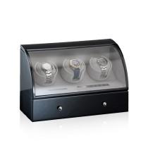 Designhütte Uhrenbeweger Basel 3 LCD Schwarz
