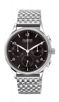 "Dugena Premium Herrenchronograph ""Minor"" Stahl-schwarz 7090243"