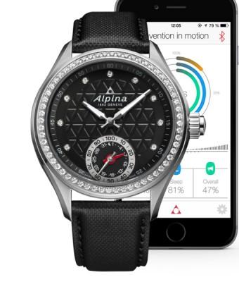 Alpina Horological Damen Smartwatch inkl.Ersatzband NEU