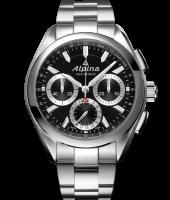 Alpina Modell: Manufacture Flxback Chrono inkl.Lederband NEU