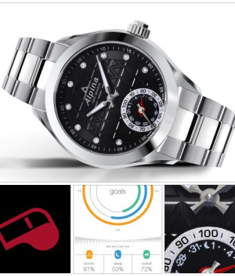 Alpina Horological Damen Smartwatch inkl.Lederband NEU