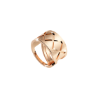 Melrose Damenring Bronze-vergoldet NEU