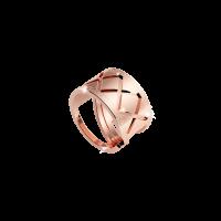 Melrose Damenring Bronze-rosevergoldet NEU