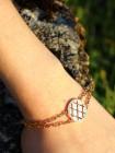 Melrose Armband Bronze-vergoldet NEU