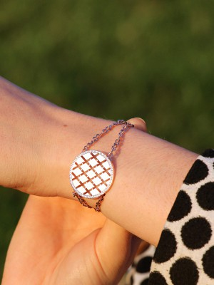 Melrose Armband Bronze-rosevergoldet NEU