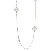 Melrose Halskette Bronze-versilbert NEU