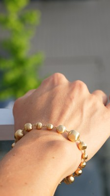 Marco Bicego Armband Africa 18ct. Gelbgold BB1416